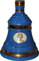 WHIKEY BELLS QUEEN 75TH BIRTHDAY DECANTER 70CL